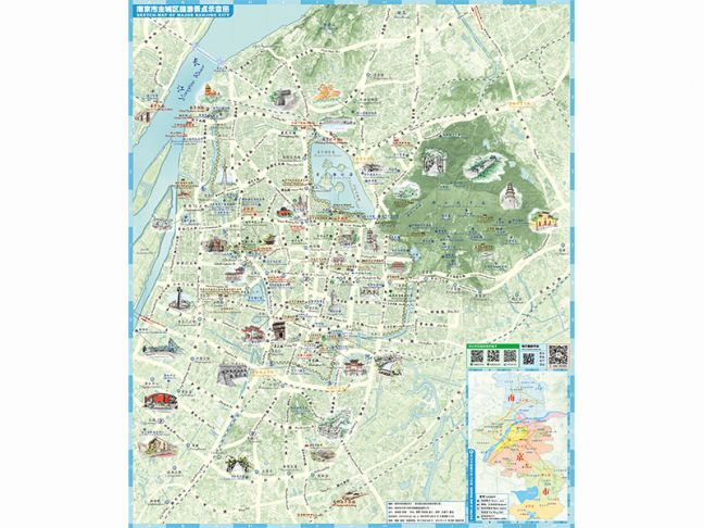 Travel Maps Of Nanjing Nanjing Travel - Nanjing map