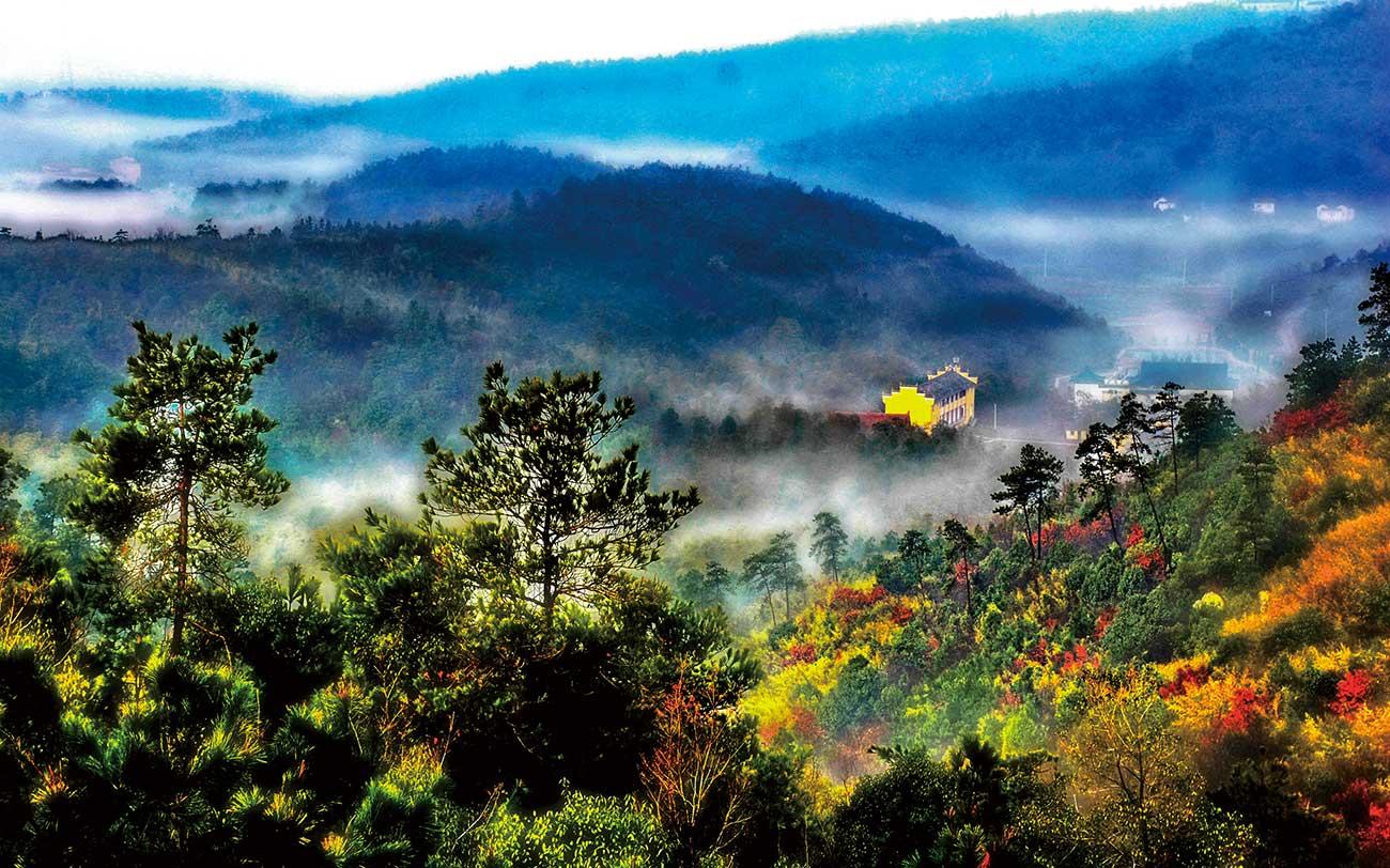 Wuxiang Mountain in Lishui