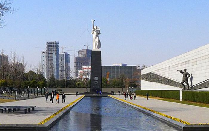 The Memorial Hall of the Victims in Nanjing Massacre by Japanese Invaders jpg
