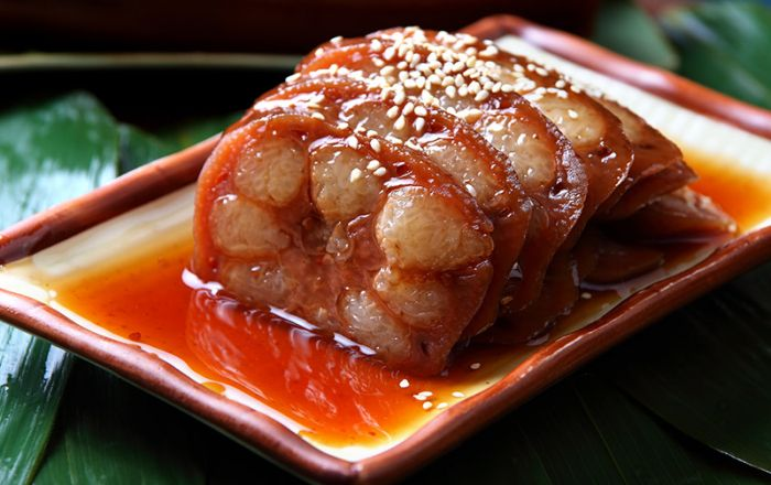 Lotus Root Stuffed with Rice