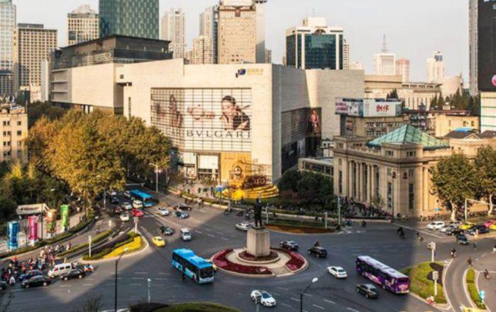 Nanjing Xinjiekou Commercial Circle