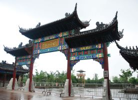Site of The Treasure Boat Factory Zhenghe Memorial Tourism Exhibition Leisure
