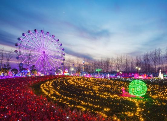 Wonderland of thousand lights