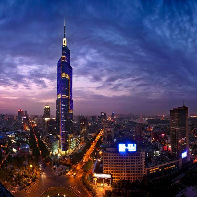 Zifeng Tower Nanjing Trip Attraction