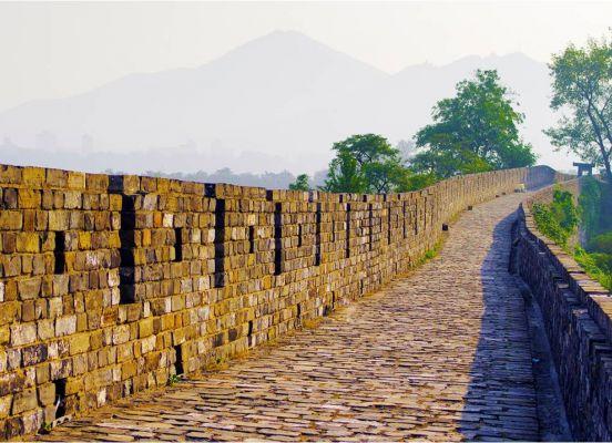 Lion Mountain Fengyi Door Nanjing Cultural Natural