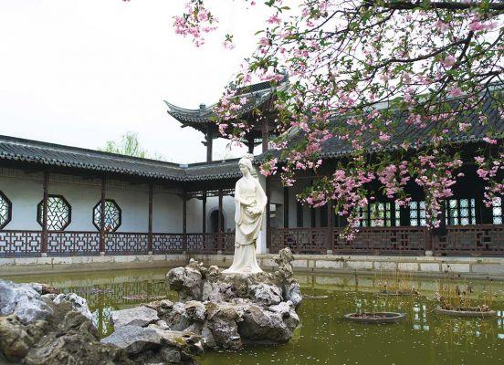 Mochou Lake Classic Park Nanjing History And Culture