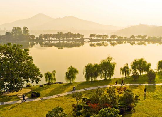 Nanjing Xuanwu Lake Park Nature
