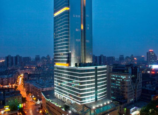 Sheraton Nanjing Kingsley Hoteland Towers China Accommodation