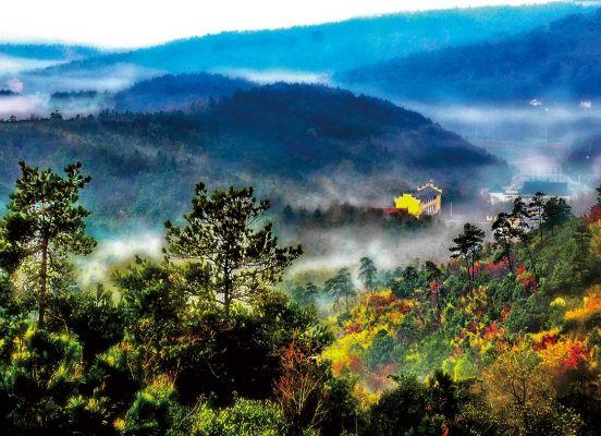 Wuxiang Mountain in Lishui Nanjing Trip Attraction